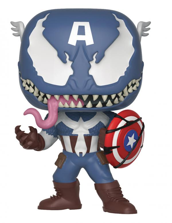 Venomized Captain America 364