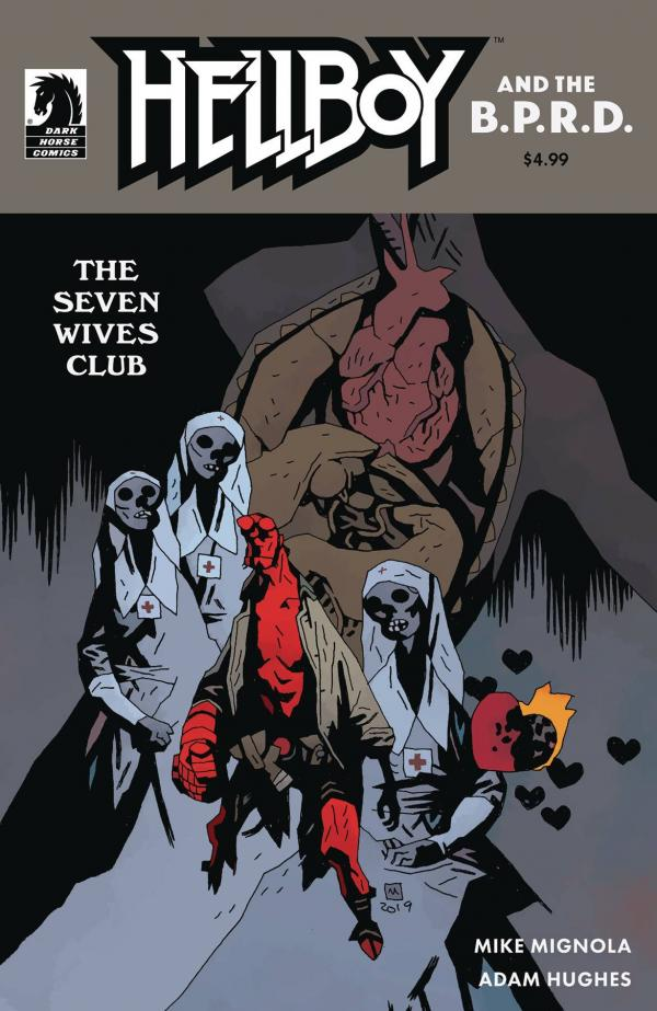 HELLBOY & THE BPRD THE SEVEN WIVES CLUB #1 CVR B MIGNOLA