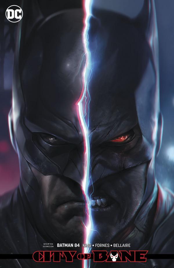 BATMAN #84 CARD STOCK VAR ED