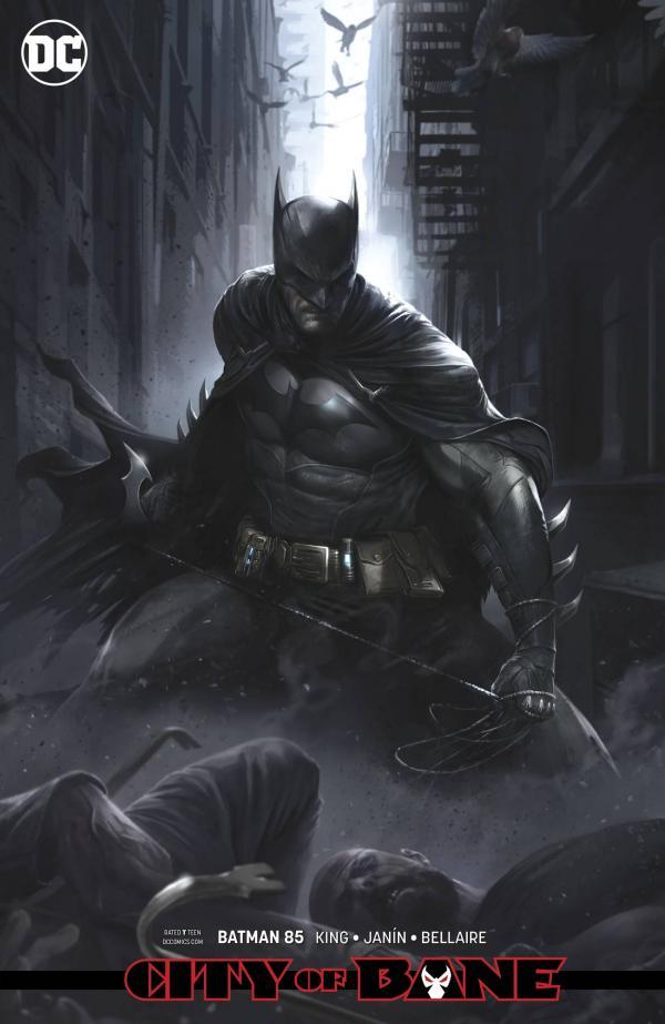 BATMAN #85 CARD STOCK VAR ED