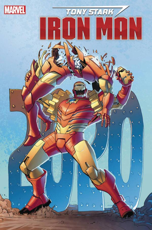 TONY STARK IRON MAN #19 WOODS VAR