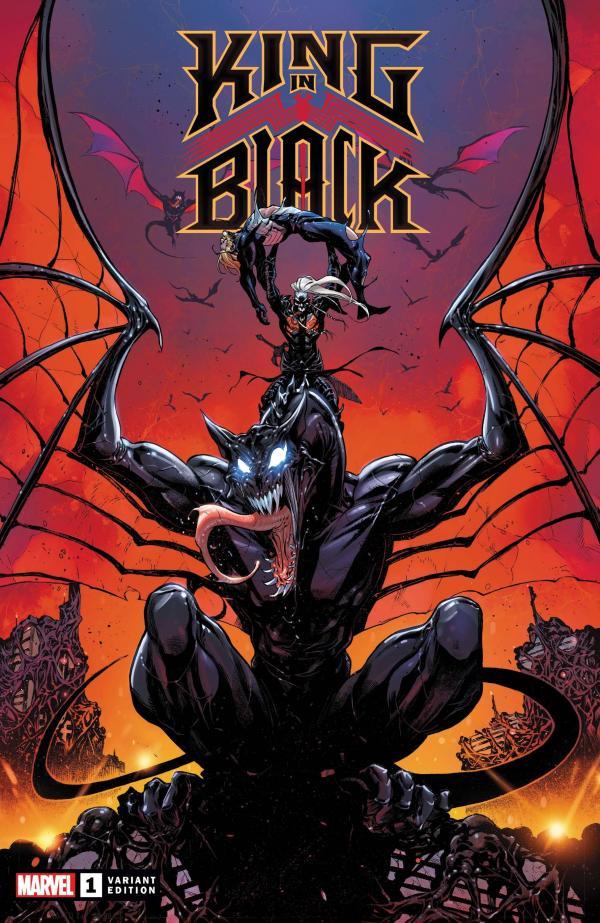 KING IN BLACK #1 (OF 5) COELLO DRAGON VAR