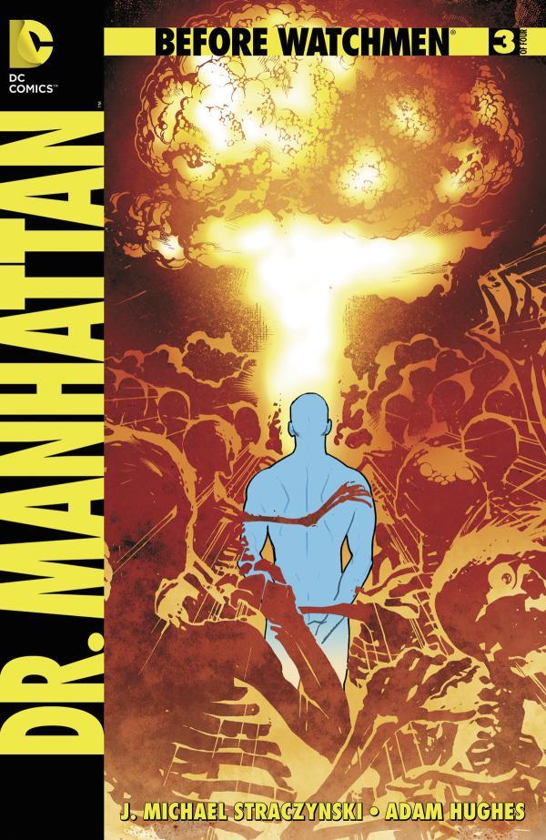 BEFORE WATCHMEN DR MANHATTAN #3