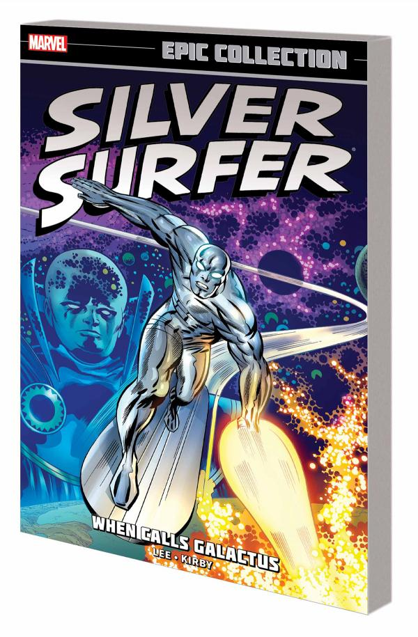 SILVER SURFER EPIC COLLECTION TP WHEN CALLS GALACTUS NEW PTG