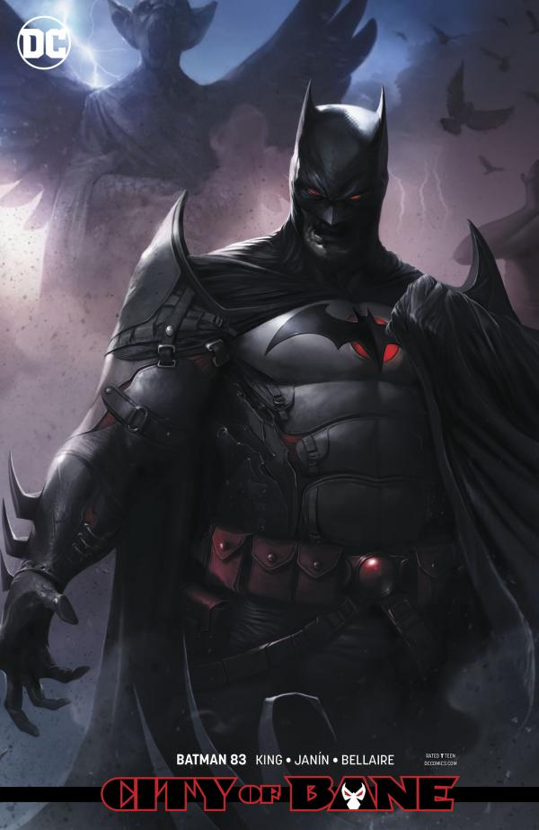 BATMAN #83 CARD STOCK VAR ED