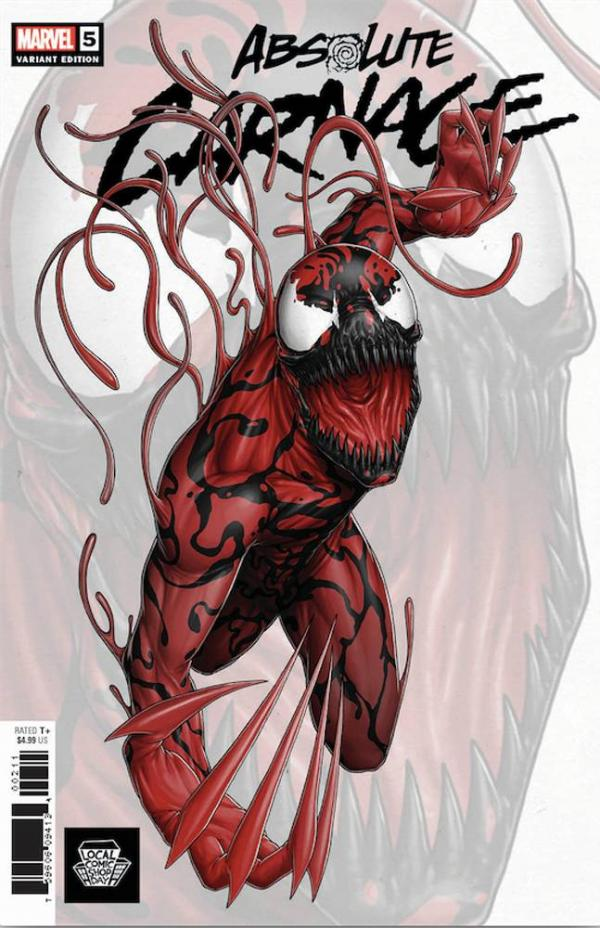 ABSOLUTE CARNAGE #5 (OF 5) LCSD 2019 CHRISTOPHER VAR