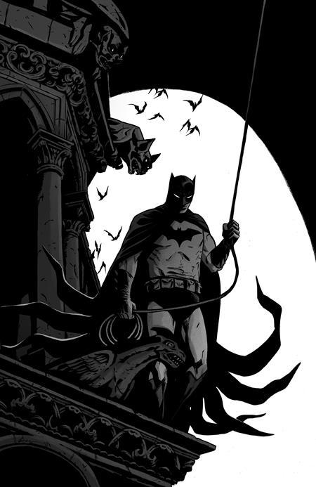 BATMAN BLACK AND WHITE #4 (OF 6) CVR A BECKY CLOONAN