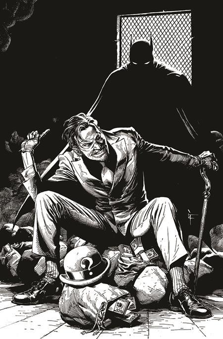 BATMAN BLACK & WHITE #5 (OF 6) CVR C GARY FRANK THE RIDDLER VAR