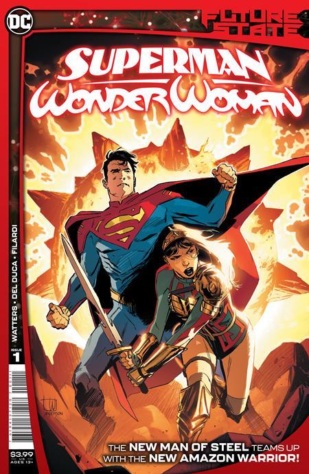 FUTURE STATE SUPERMAN WONDER WOMAN #1 (OF 2) CVR A LEE WEEKS