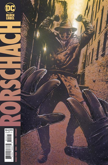 RORSCHACH #4 (OF 12) CVR B TRAVIS CHAREST VAR (MR)