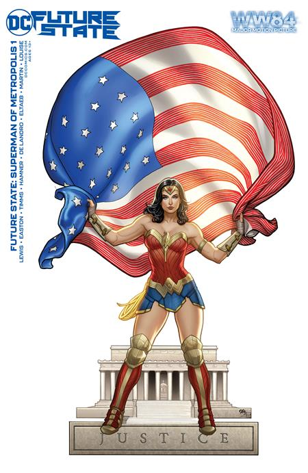 FUTURE STATE SUPERMAN OF METROPOLIS #1 (OF 2) CVR D WONDER WOMAN 1984 FRANK CHO CARD STOCK VAR