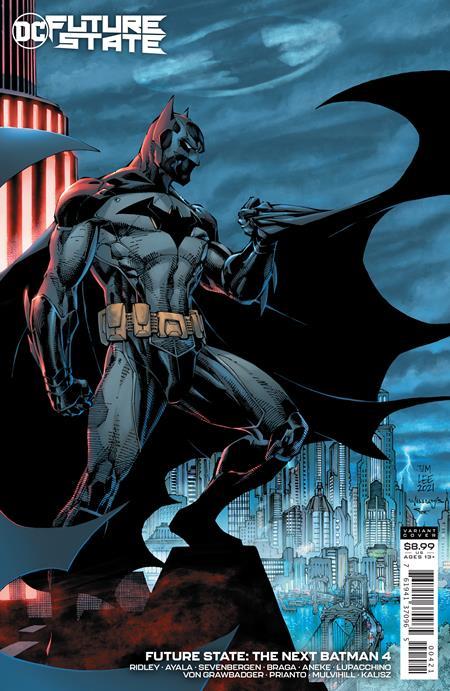 FUTURE STATE THE NEXT BATMAN #4 (OF 4) CVR B JIM LEE & SCOTT WILLIAMS CARD STOCK VAR