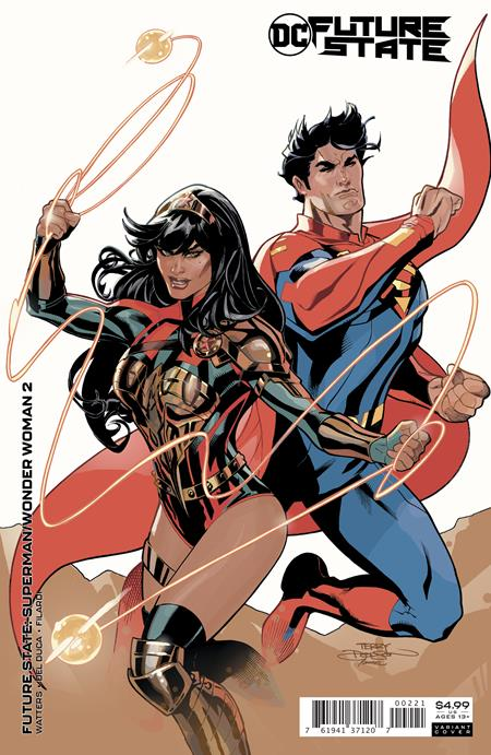FUTURE STATE SUPERMAN WONDER WOMAN #2 (OF 2) CVR B TERRY DODSON & RACHEL DODSON CARD STOCK VAR
