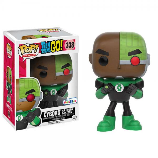 Cyborg as Green Lantern 338