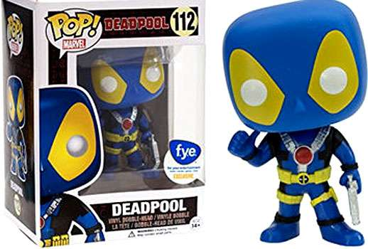 Deadpool Thumb Up [Blue] Exclusive  112