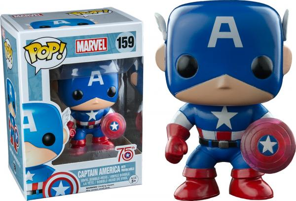 Captain America With Photon Shield 159