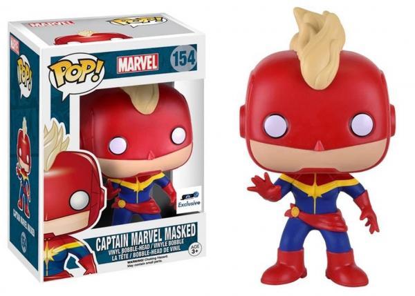 Captain Marvel Masked 154
