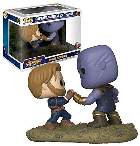 Captain America VS Thanos 698