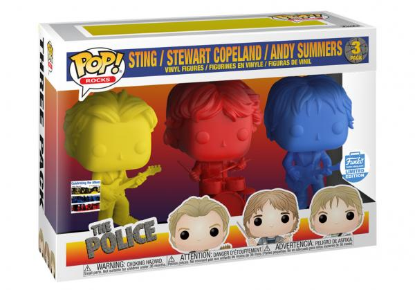 Sting / Stewart Copeland / Andy Summers 3-Pack
