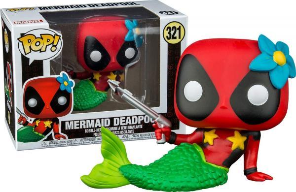 Mermaid Deadpool 321