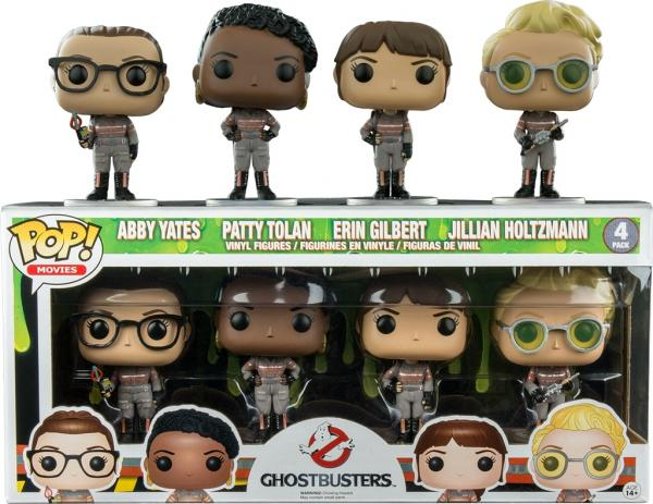 Abby Yates Patty Tolan Erin Gilbert Jullian Holtzmann 4-Pack