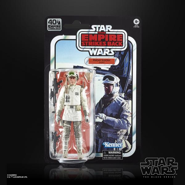 40th Anniversary Empire Strikes Back Rebel Soldier (Hoth)