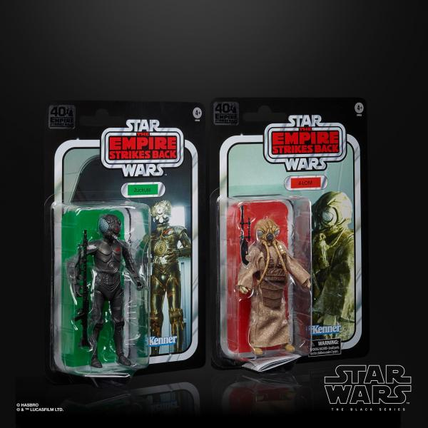 40th Anniversary Empire Strikes Back 4-LOM & Zuckuss 2-Pack