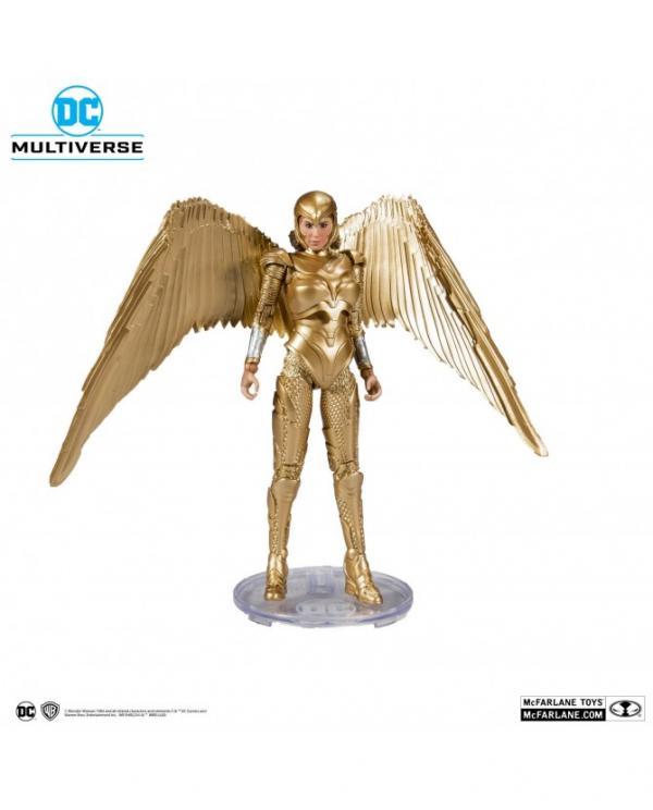 DC Multiverse Figurine Wonder Woman 1984 Golden Armor