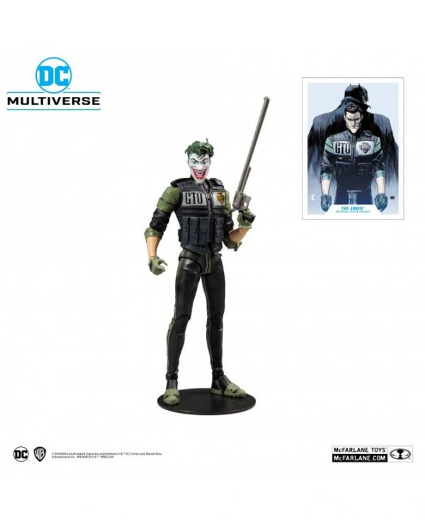 DC Multiverse Figurine The Joker White Knight