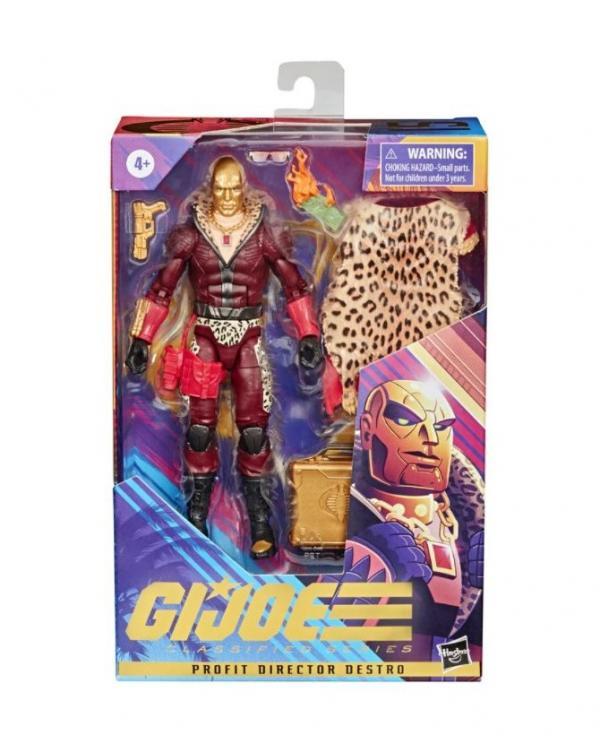 G.I. Joe Classified Series Figurine Profit Director Destro #15