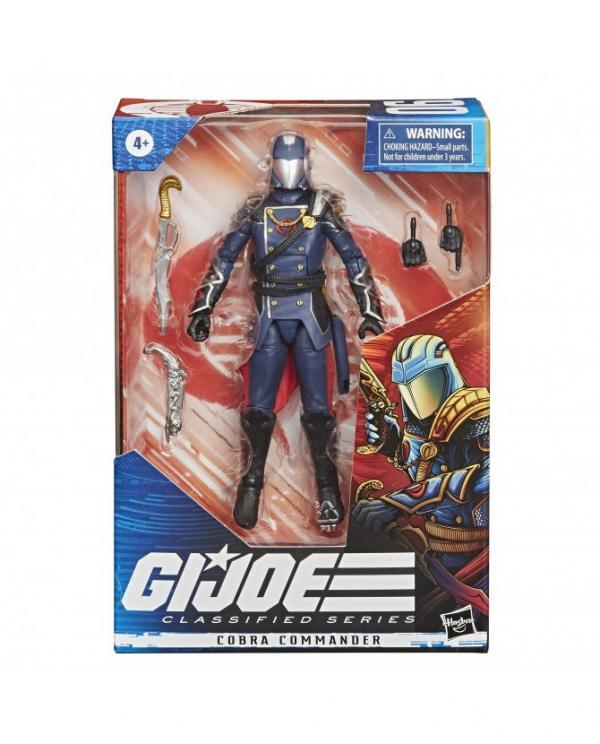 G.I. Joe Classified Series Figurine Cobra Commander #06