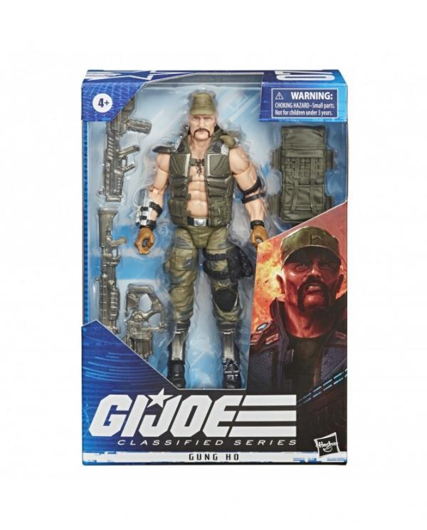G.I. Joe Classified Series Figurine Gung Ho #07