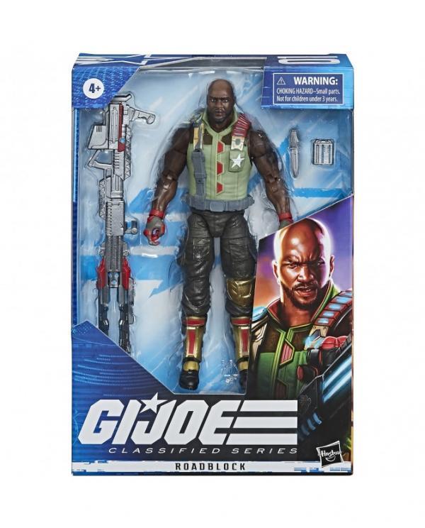 G.I. Joe Classified Series Figurine Roadblock #01