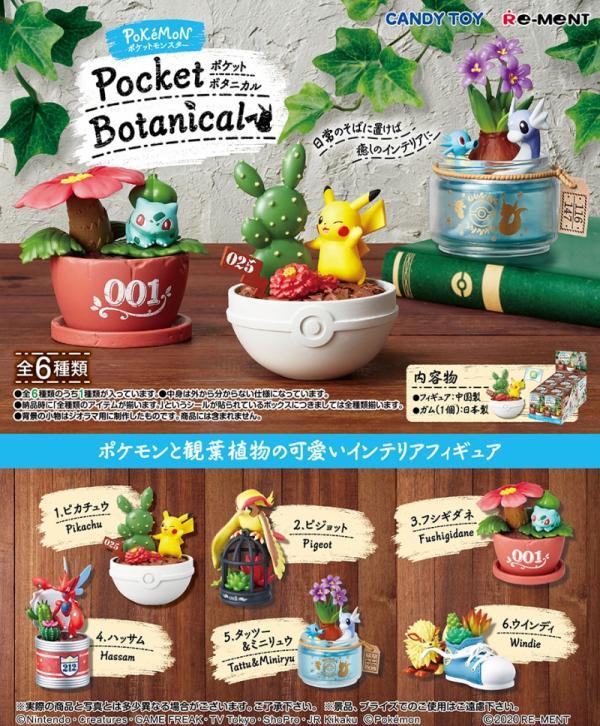 Pokemon Terrarium Collection Pocket Botanical