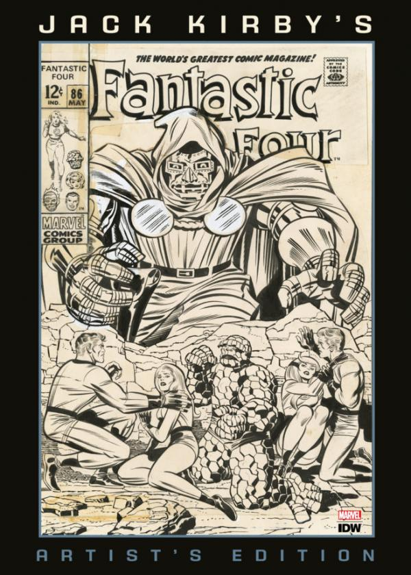 JACK KIRBY FANTASTIC FOUR ARTIST ED HC SIGNED AND NUMBERED VARIANT