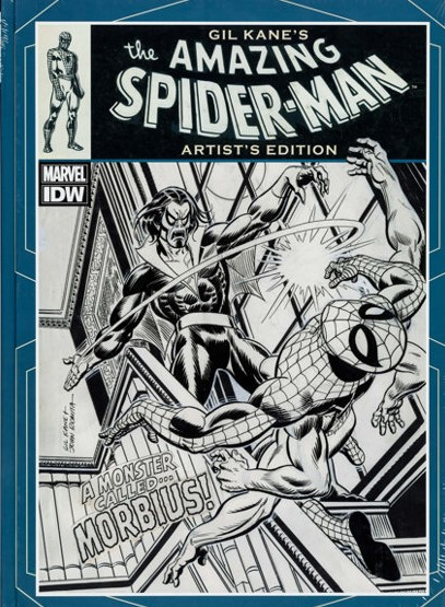 GIL KANE THE AMAZING SPIDER-MAN ARTIST ED HC SIGNED AND NUMBERED