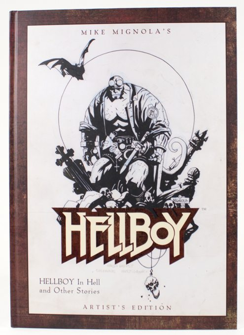 MIKE MIGNOLA HELLBOY ARTIST ED SIGNED NUMBERED AND REMARKED