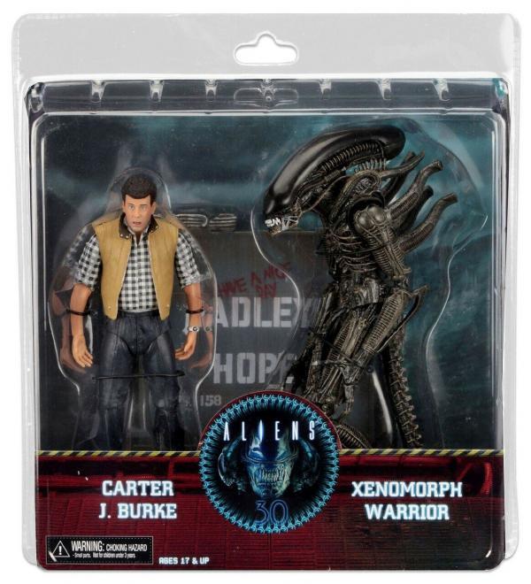 Carter J. Burke & Xenomorph Warrior 2-Pack