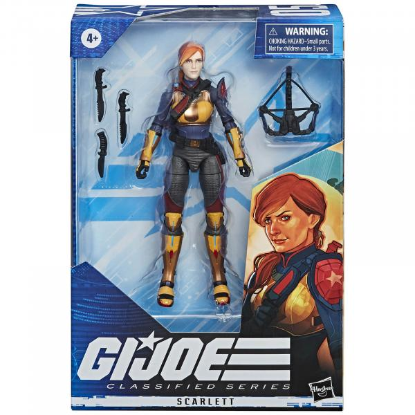 G.I. Joe Classified Series Figurine Scarlett #05