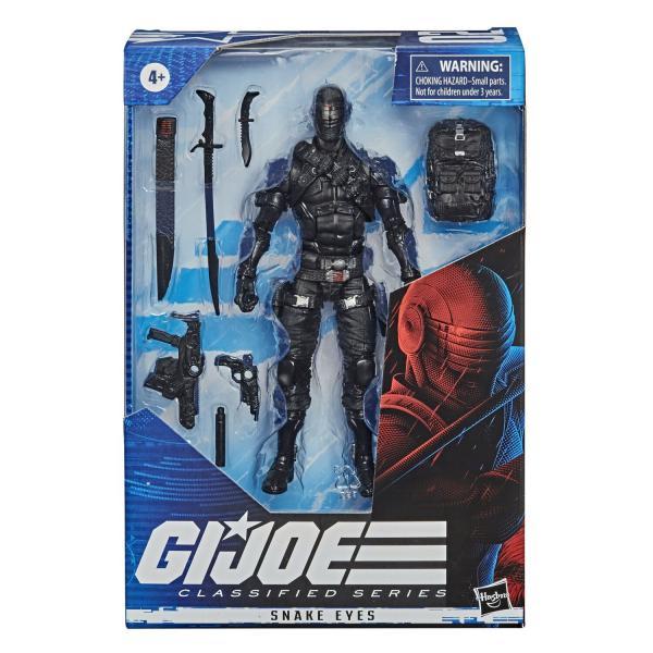 G.I. Joe Classified Series Figurine Snake Eyes #02