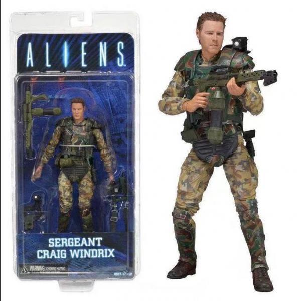 Aliens Sergeant Craig Windrix
