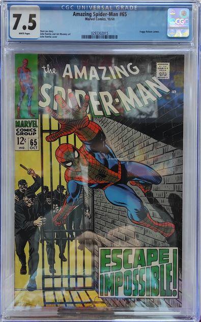 CGC AMAZING SPIDER-MAN #65 7.5
