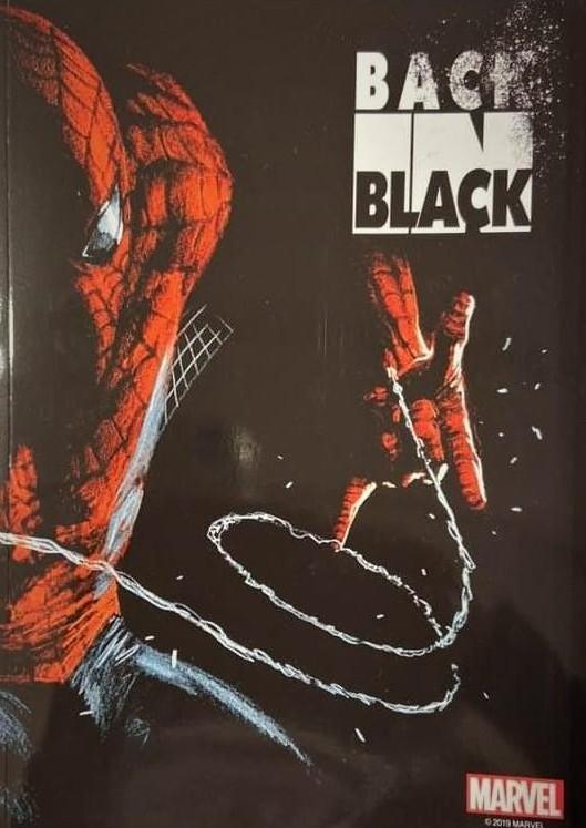 BACK IN BLACK SOFT COVER SIGNED