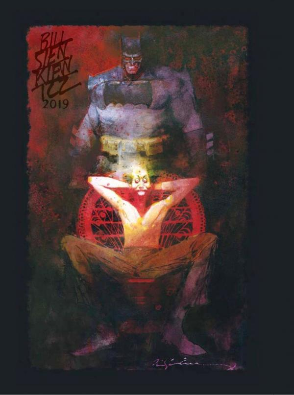 BILL SIENKIEWICZ SKETCHBOOK 2019