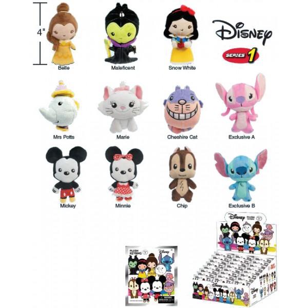Porte-clés Peluche Disney Série 1
