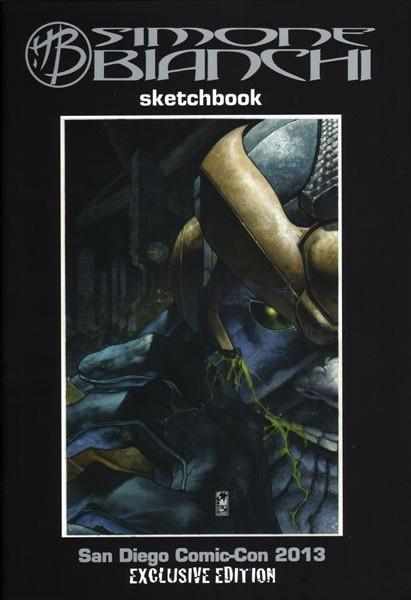 SIMONE BIANCHI SKETCHBOOK 2013
