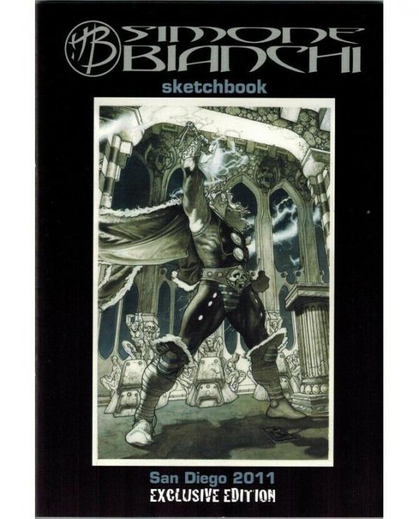SIMONE BIANCHI SKETCHBOOK 2011