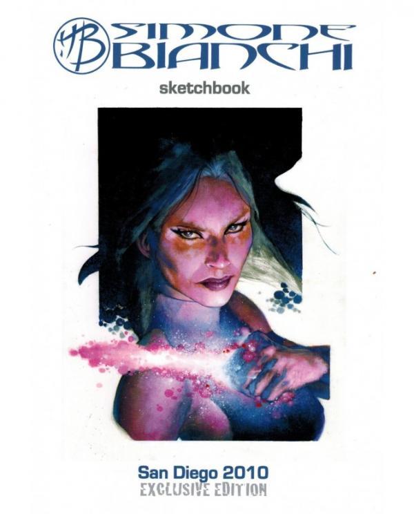SIMONE BIANCHI SKETCHBOOK 2010