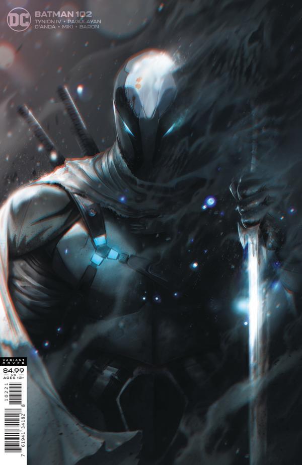 BATMAN #102 MATTINA VAR