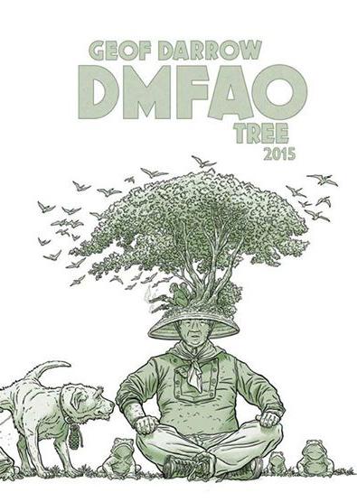 GEOF DARROW DMFAO TREE SIGNED